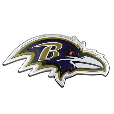 ravens colors baltimore ravens color emblem car or truck decal team