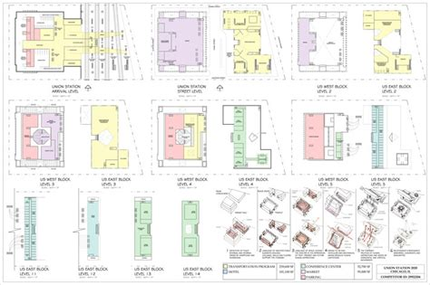 chicago union station floor plan pacific atelier 187 union staton