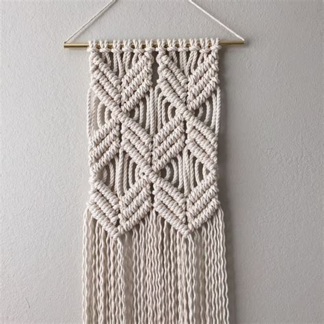 Macrame Directions - macrame patterns macrame pattern macrame wall hanging