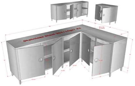 commercial kitchen storage cabinets customized stainless steel kitchen utility storage cabinets