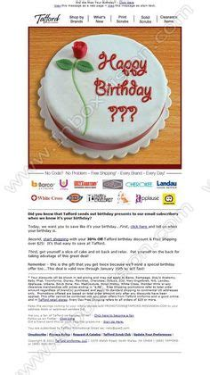 1000 Images About Email Creative Birthday On Pinterest Birthday Email Email Design And Birthday Newsletter Template Free
