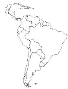south and central america blank map 302 found