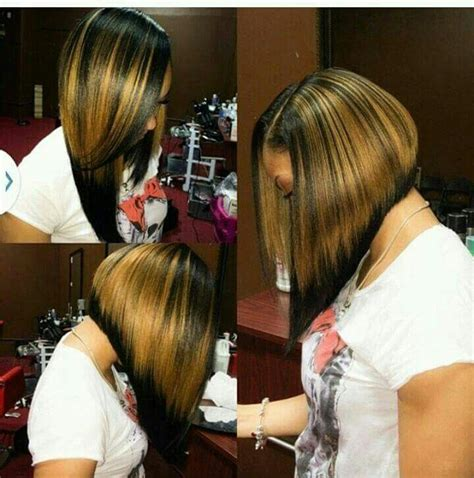 toni neal stylist partial sewin inverted bob with highlights relaxed hair style hair pinterest relaxed hair hair