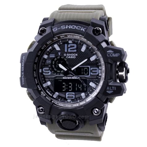harga sarap jam tangan g shock mudmaster gwg1000 1a3 hijau kw 1