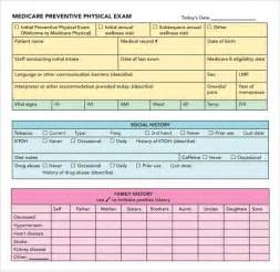 physical examination template sle health assessment 6 documents in pdf