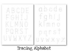 Alphabet Letter Tracing Templates by Free Printable Tracing Alphabet Letters Coffemix