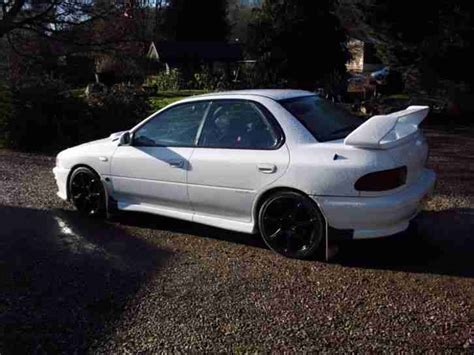 subaru white car subaru impreza wrx sti 1996 white car for sale