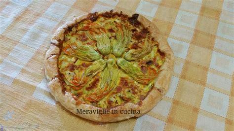 torta di fiori di zucca torta con fiori di zucca meraviglie in cucinameraviglie