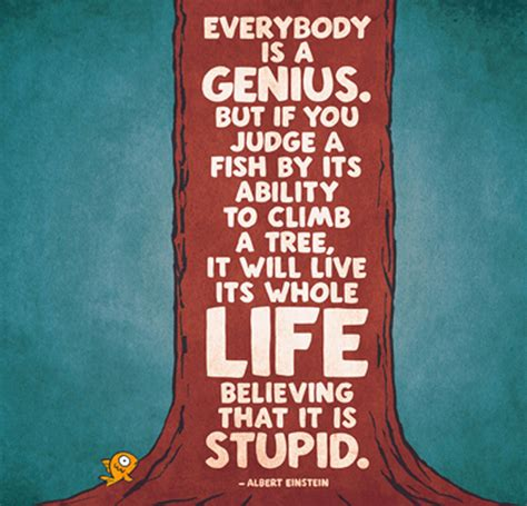 would you teach a fish to climb a tree a different take on with add adhd ocd and autism books quote einstein was right adjust your expectations