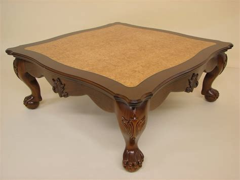 claw lions foot quot coffee table quot by dennis zongker