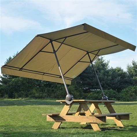 best picnic table umbrella best 25 picnic table umbrella ideas on picnic