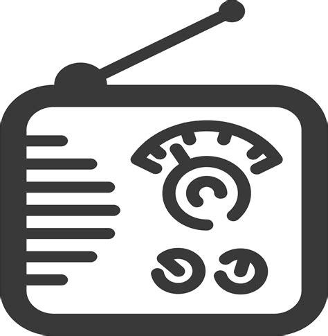 vector radio tutorial radio icon vector clipart image free stock photo