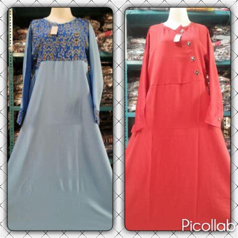 Gamis Bandung pusat grosir gamis balotelli dewasa syari murah bandung 52ribu baju3500