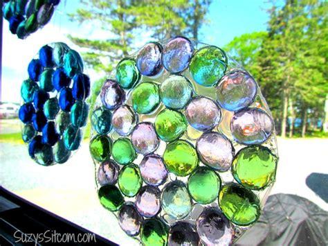 glass bead suncatchers crafts easy to make glass sun catchers