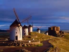 La Mancha Consuegra La Mancha Spain Wallpapers Hd Wallpapers