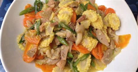 capcay ayam  resep cookpad