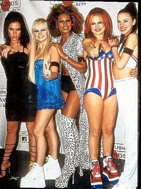 90s fashion spice girls   Cool party things   Pinterest