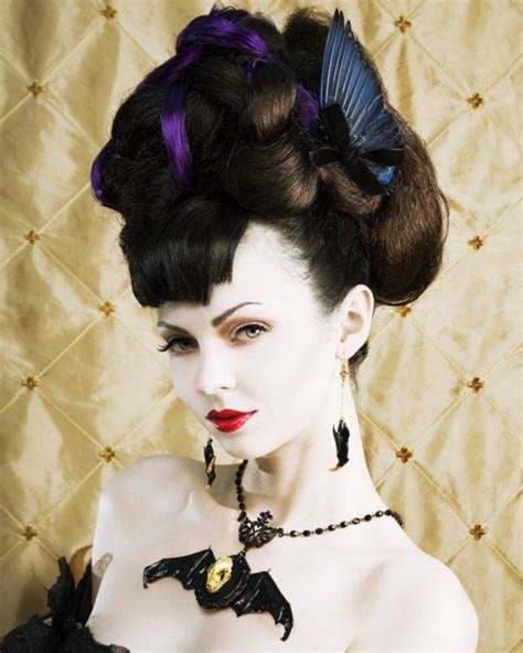 gothic haircuts gallery victorian goth hairstyles gallery 2 gothic life