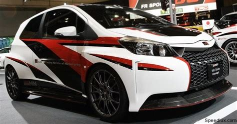Lu Hid Yaris toyota grmn vitz turbo and aqua g sports revealed at tokyo