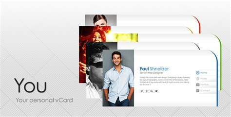 vcard html template 50 html5 personal website templates sixthlifesixthlife