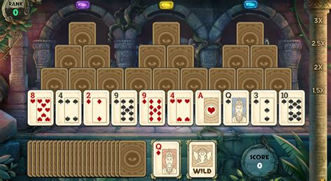 tri peaks solitaire hd  card game club pogo