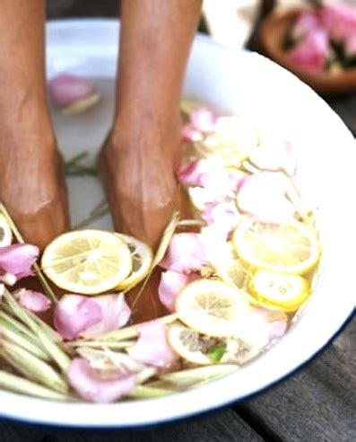 Lemon And Lavender Detox Bath by Relaxing Foot Soak For Achy Beautyblunders
