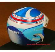 1996 Alfa DTM Martini Racing Nicola Larini Helmet