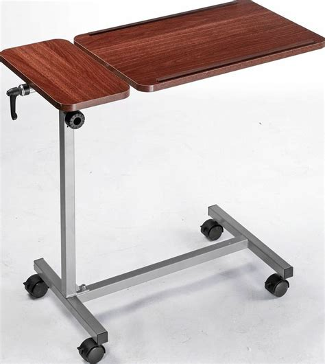 drive multi purpose tilt top split overbed table 1000 ideas about overbed table on wood