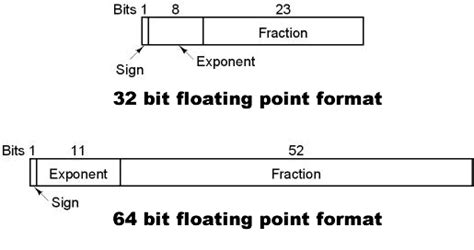 float format binary number system