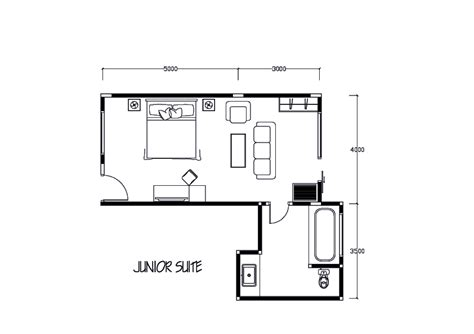 hotel room suite layout amadea resort villas room types