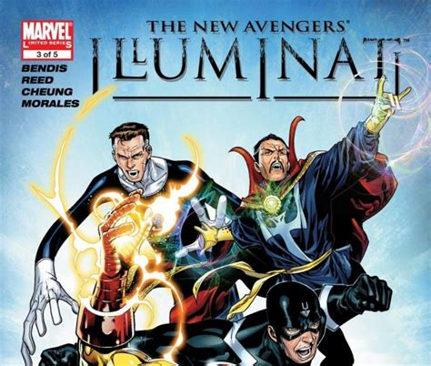 new illuminati new illuminati 2006 3 comics marvel
