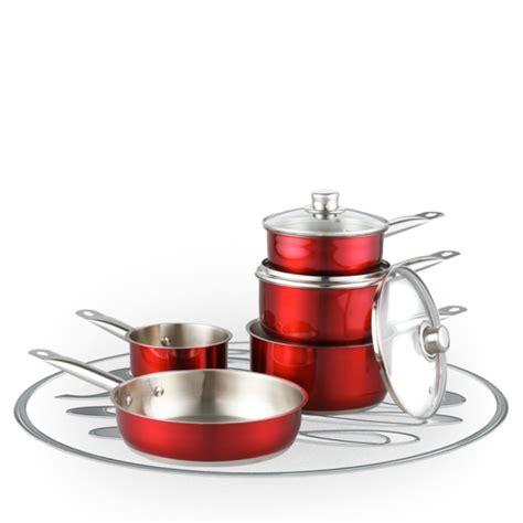 Pisau Set Russel Hobbs hobbs jewels 5 stainless steel pan set