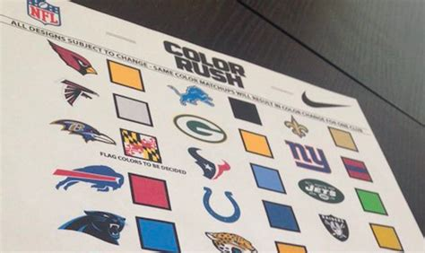 when did get color look did every nfl color just get leaked
