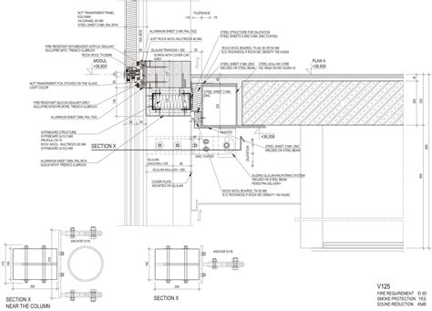 section 125 plan detail gallery of aula medica wing 229 rdh arkitektkontor 31