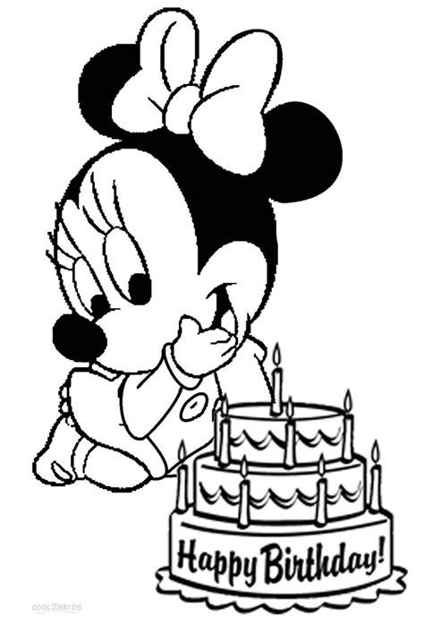 Minnie And Mickey Mouse Coloring Pages Printable by Baby Mickey Mouse Coloring Pages Printable Coloring Image