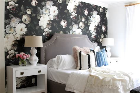 floral bedroom guest prep how to style a bedroombecki owens
