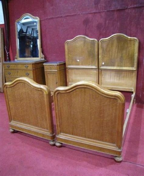 antique twin beds for sale a212 antique italian blonde walnut pair of twin beds