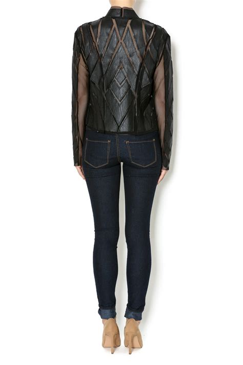 Sheer Jacket cq by cq sheer paneled jacket from manhattan by dor l dor