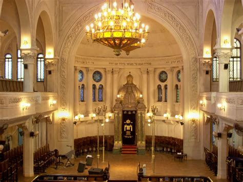 Interior Of A Synagogue by Architecture Of The Inside View Of Synagogue In Buenos