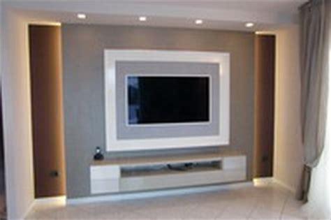 porta tv in cartongesso parete cartongesso attrezzata con cornice porta tv e