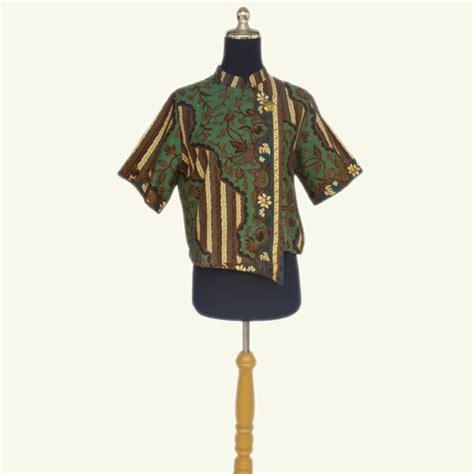 Blouse Batik By Ratoe Modern baw010 ciara batik atasan croptop batik domka