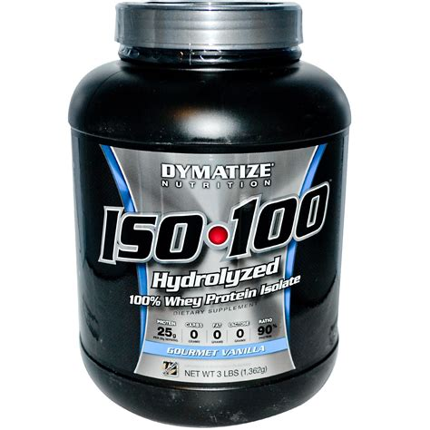 Whey Protein Isolate Dymatize Nutrition Iso 100 100 Whey Protein Isolate
