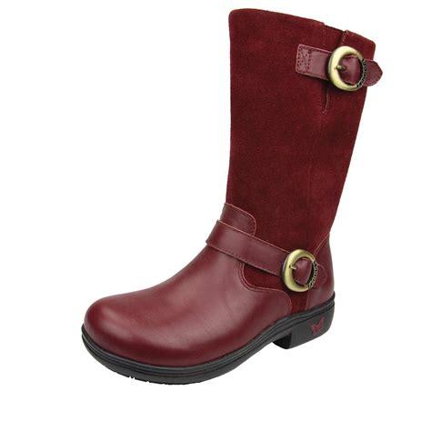 alegria shoes kris burgundy boots alegria shoe shop