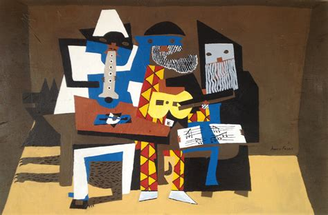 picasso essential art 0752535897 three musicians essential acrylics