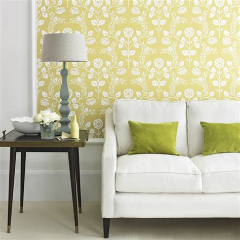 yellow pattern loveseat how to decorate with yellow ideal home