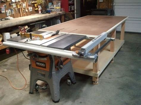 rolling work bench plans my 4x8 rolling work bench outfeed jpg woodworking