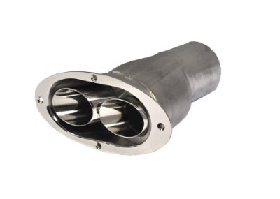 side boat exhaust corsa marine exhaust side exit exhaust tip with quot double