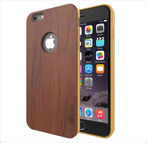 Bmw Logo On Wood Apple Iphone 6 Tpu Hybrid Soft Rubber Side best iphone 6 wooden cases handcrafted picture
