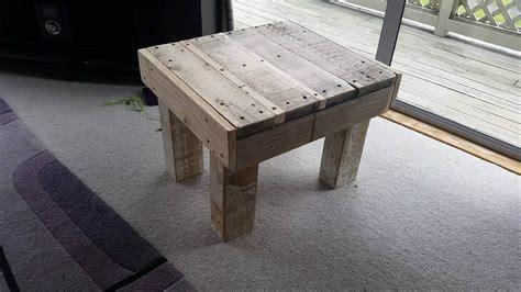 pallet coffee table legs