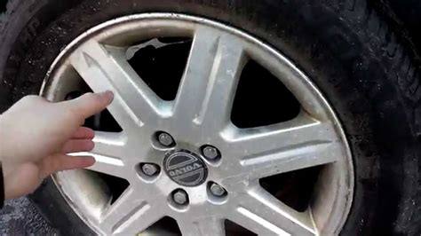 volvo  bad rear wheel bearing youtube